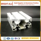 Factory supply industrial aluminium profile and polished t-slot aluminum extrusion profile for equipment framework