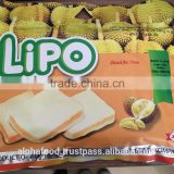 LIPO Durian 210g cookies - BEST DURIAN BISCUITS