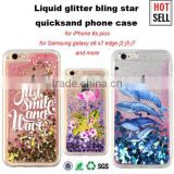 3D custom printing colorful liquid stars phone case, bling glitter cover for iphone 5 5s 6 plus for samsung galaxy s6 s7                                                                         Quality Choice