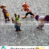 2016 12Pcs Zootopia Toys Nick Wilde Judy Hopps Kids Gift Doll Plastic Cartoon Figure Anime Toy
