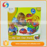 Professional custom all kinds children plastic car parking garage toy