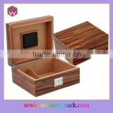 Customized Wooden Temperature Controlled Cigar Humidor Wh-3039