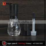 new style 5ml nail gel polish bottle color painted fancy nail polish gel lacquer bottle with black lid