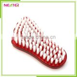 foot shape plastic bath cleaning nail brush