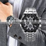 JD8882 japan movt quartz watch stainless steel bezel quartz geneva watch fold over clasp