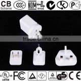 Mobile phone charger certified by UL / FCC / CE / GS / PSE / SAA/ EK / KC / BS / NOM / NYCE