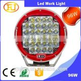 96w led driving light arb intensity led spot light 96w led driving lights 96w led work light