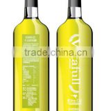 500ml Dark Green color extra virgin olive oil glass bottles with cork china manufacturing