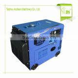 cheap price air cooled key start silent 4200w diesel generator