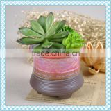 Accept small order small ceramic flower pot , quick delivery date small plant pots for succulent