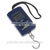 2016 new arrival hot sale 40Kg x 10g Digital Fishing Hanging Luggage Weight Weighing Hook Pocket Scale