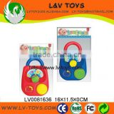 Lovely plastic baby toys of baby music box lock for baby play made in China with EN71 LV0081636