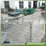 6ft highx8ft/10ft/12/ft wide 48mm OD piped 6-rail heavy duty galvanized steel metal ranch use cattle panel