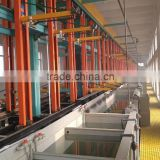 Feiyide Automatic Rack Faucet Nickel Chrome Plating Production Line with Electroplating Tank