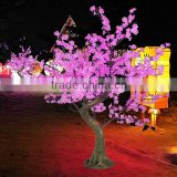 New 2014 artificial led cherry blossom led tree for garden deco wood christmas artificial