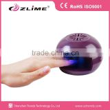 Personal home use battery operated automatical nail dryer