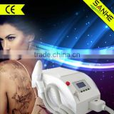 Haemangioma Treatment Portable Q Switched Nd Yag Laser Tattoo Removal And Freckles Removal Skin Rejuvenation/mini Laser Skin Whitening Machine Laser Tattoo Removal Brown Age Spots Removal