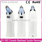 Latest USB rechargeable comedo suction diamond microdermabrasion blackhead machine for acne RO-1602
