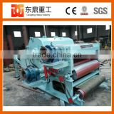 Industrial wood chipping machine drum type wood chipper for sale