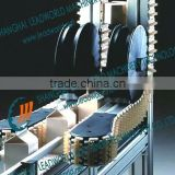 flexible vertical lifting conveyor belt