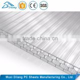plastic honeycomb sandwich panel /polycarbonate plastic honeycomb sheet /best polycarbonate roofing