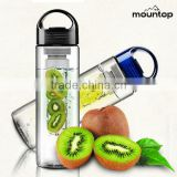 Hot new plastic fruit infuser water bottle portable,Amazon best selling shake bottle wholseale