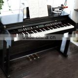 88 weighted keys 3 pedal digital piano in black