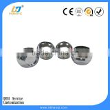 Chrome plated steel or brass valve ball