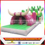 Customized giant Inflatable paintball obstacle, inflatable obstacle course for boot camp