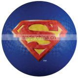 Super Hero Rubber Playground Ball, in high quality