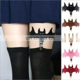 One of the most popular in 2017 The bat wings cortex garters socks leg ring anklets shirt garters for gilrs
