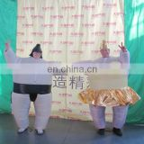 customized popular inflatable sumo wrestler costume for advertising
