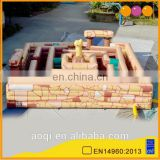 2015 new design Minos inflatable maze playground for kids