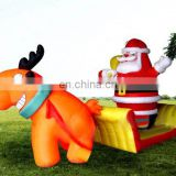 Christmas inflatable advertising