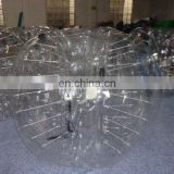 hot sale transparent human inflatable bumper bubble ball