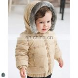 T-GC005 Fashion Winter Dress European Children Down Thicker Version Coats