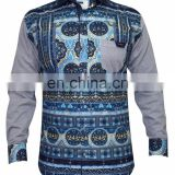 Blue Party Wear Shirt