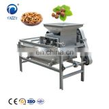 Factory price almond cracking shelling breaking machine