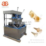 Popular Industrial Electric Pizza Ice Cream Cone Maker Baking Machine Wafer Pizza Cone Equipment