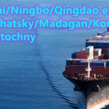 Shanghai to Korsakov Russia sea freight Far east port