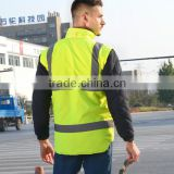 reflective winter safety reflector jacket