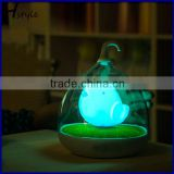 Children LED Adjusting Brightness Bird Cage Cartoon Lamp, Lovely Mini Animal Bird Night Light Cartoon Table Lamp SNL087