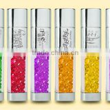 custom wedding gift crystal usb flash drive colorful usb driver 2.0 newest usb pendrive for gift