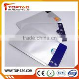 Passport / Credit card protector Aluminum foil rfid blocking card sleeve                                                                         Quality Choice