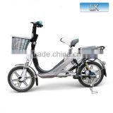 China cheap mini 48V 240W rechargeable battery bicycle electric with hub motor                                                                         Quality Choice