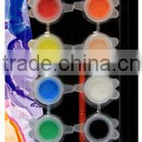 12ct*2ml Metallic Acrylic Paint A0159