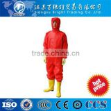 Professional manufacturer custom made manufacturers chemical protective suit with high quality