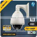 1080P HD TVI 27X optical zoom/pan/tilt PTZ Camera Sony CMOS Outdoor Camera 2.0MP TVI High Speed Dome Camera support Ip66