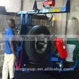 Competitive supplier industrial recycling can crusher waste tire cutting machine for rubber powder