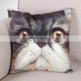 wholesale letter design printing cushion cover ,plain canvas pillow cases, decorative throw pillow covers